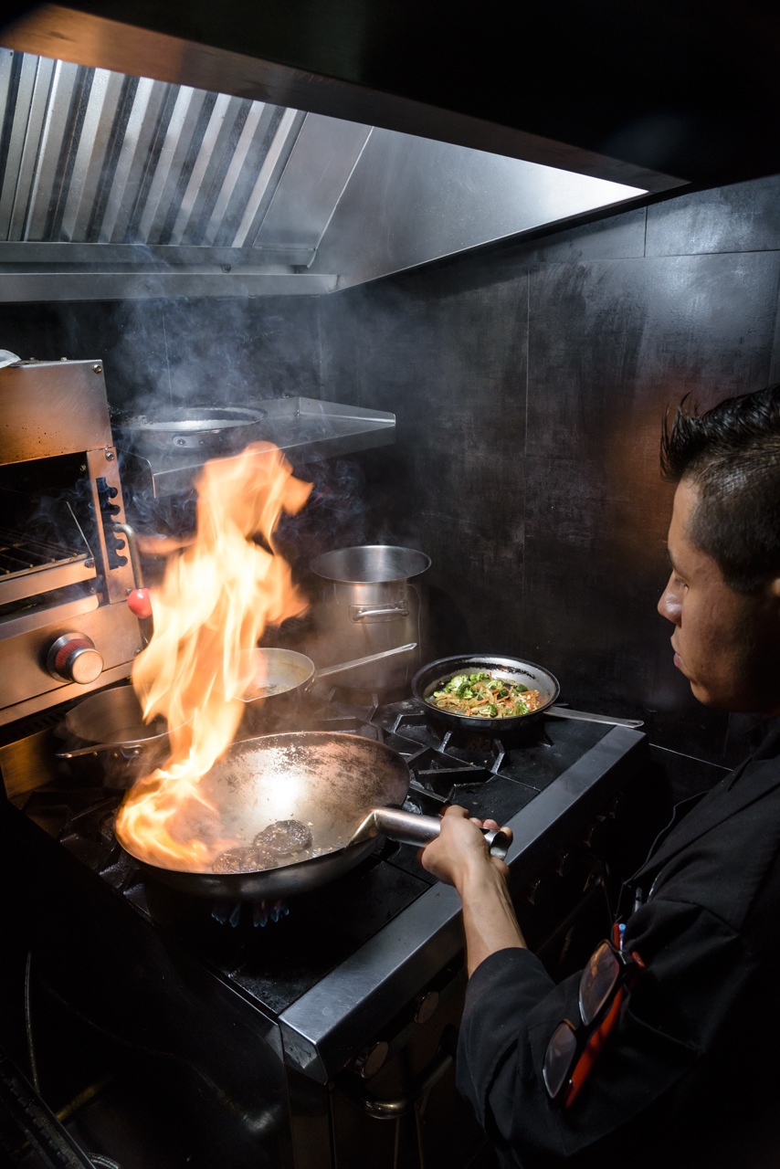 Food and product photography Chinaloa fire