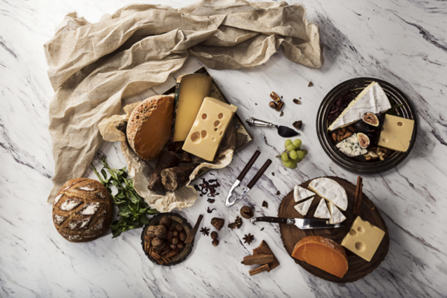 Food and product photography Lecniel French Cheese campaing