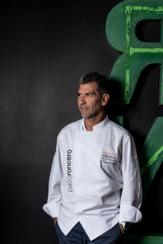 Food and product photography Millesime World Portrait Paco Roncero