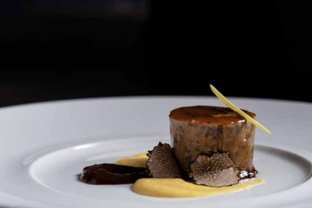 Food and product photography Millesime Paco Roncero Meat Truffles