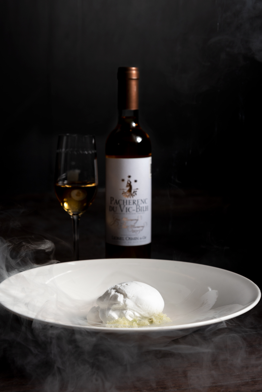 Food and product photography Millesime Paco Roncero Dessert