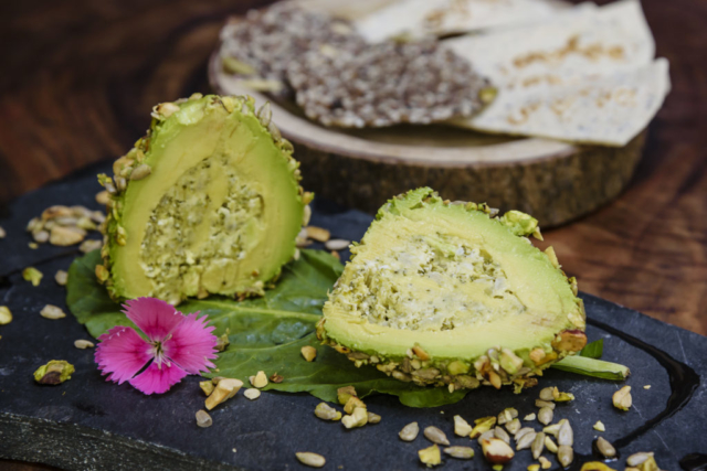 Food and product photography Selvatico Stuffed Avocado