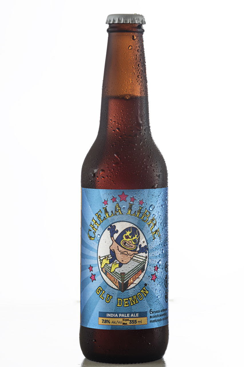Food and product photography Chela Libre Beer