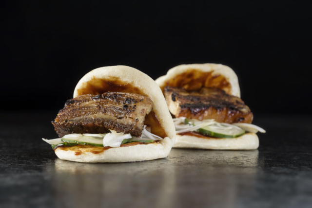 Food and product photography Butcher and Sons Pork Belly Steamed Buns