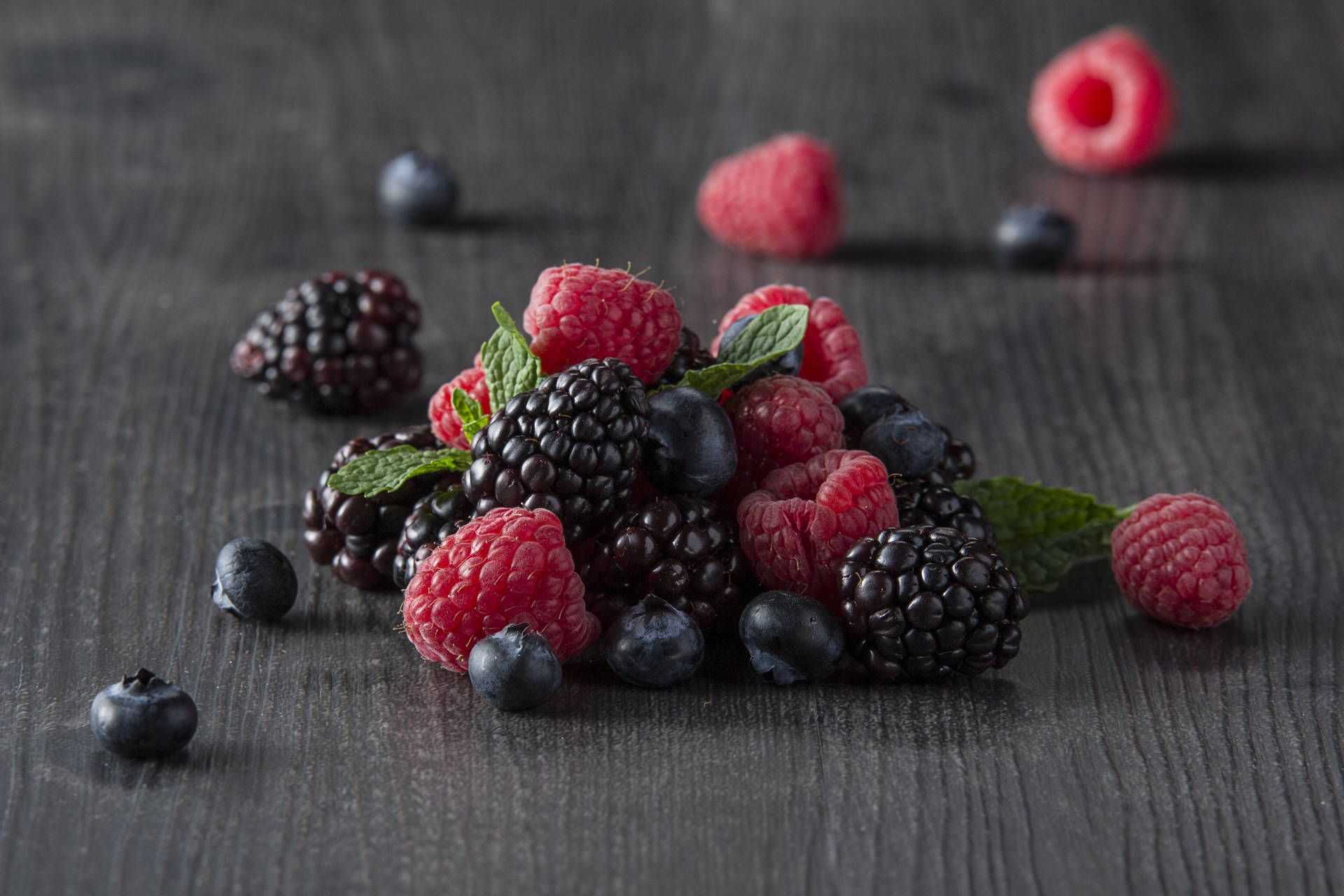 Food and product photography berries lurpak butter
