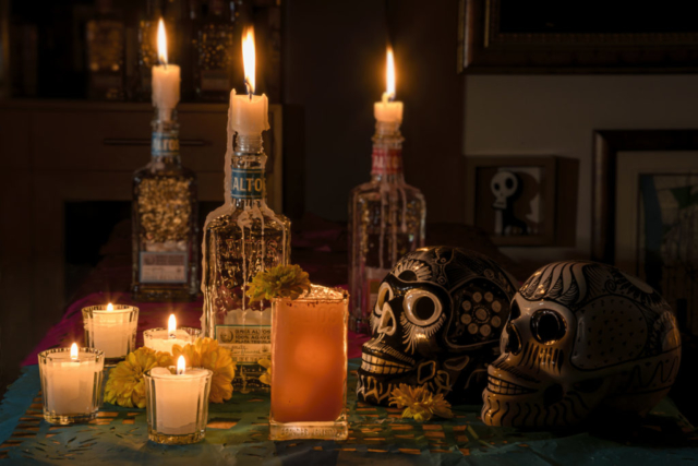 Food and product photography Altos Dia de Muertos Paloma