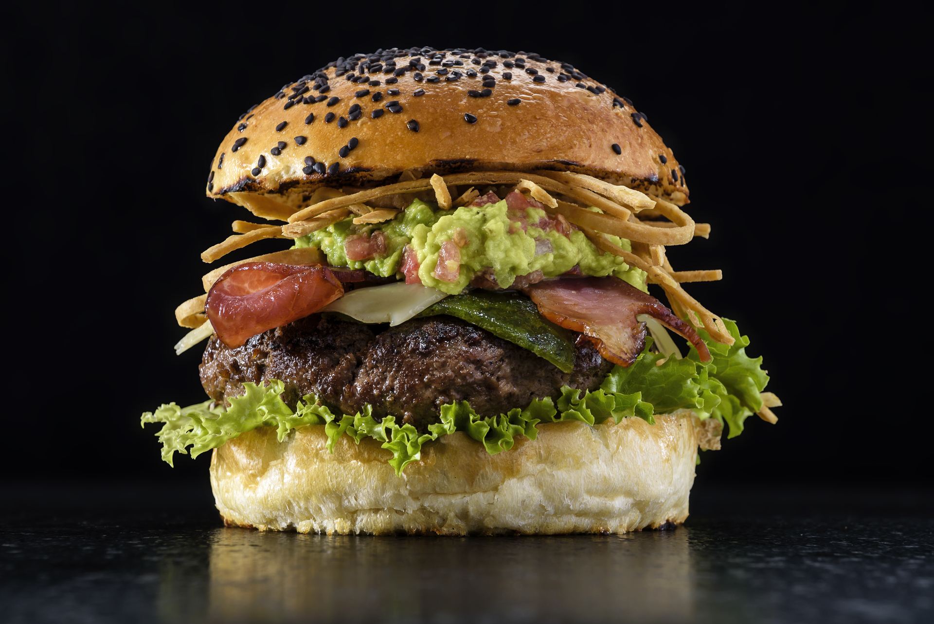 Food and product photography Butcher and Sons Hamburger