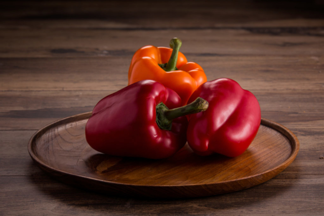 Food and product photography Lurpak Mexico Bell Peppers